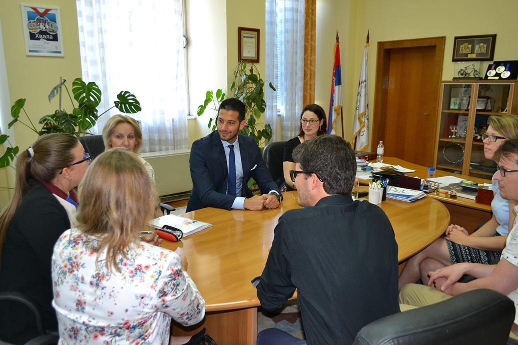 Министар Удовичић угостио представнике Кровне организације младих Немачке