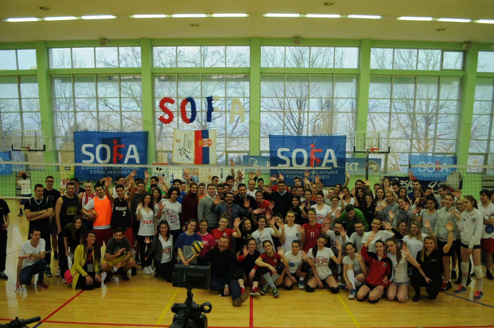 Održan mini turnir SOFA challenge na Košutnjaku