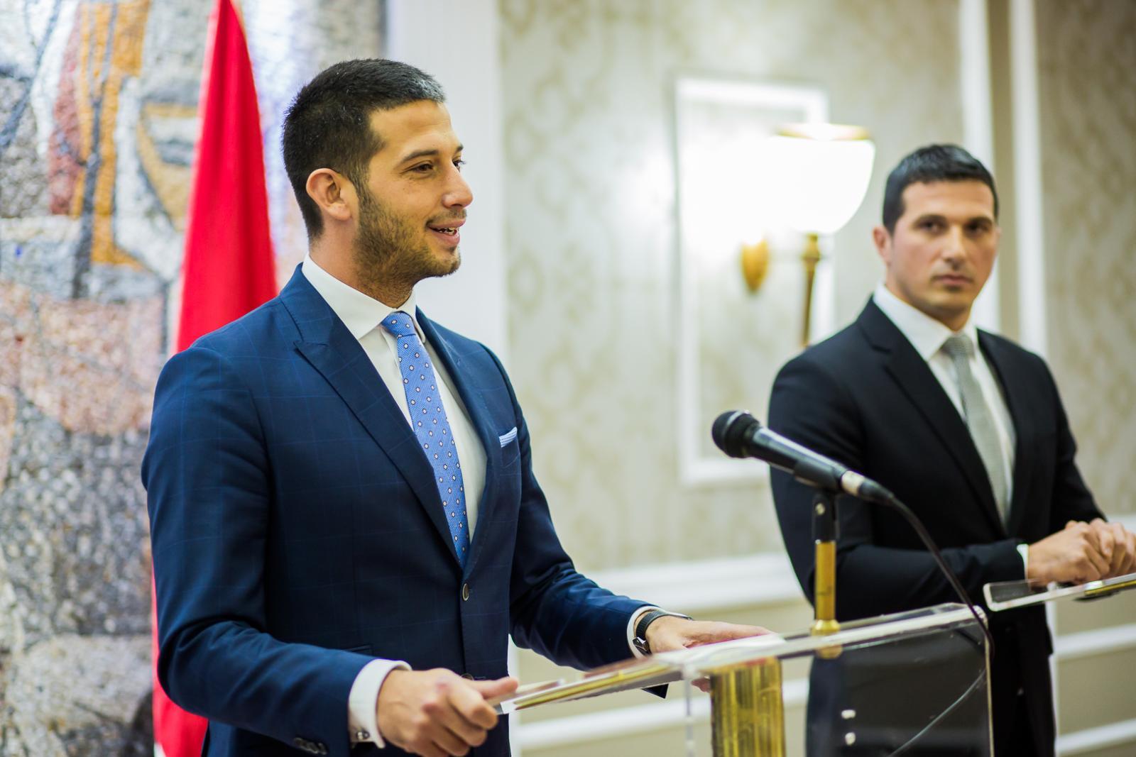 Ministar Udovičić na bilateralnom sastanku sa ministrom sporta Crne Gore Nikolom Janovićem