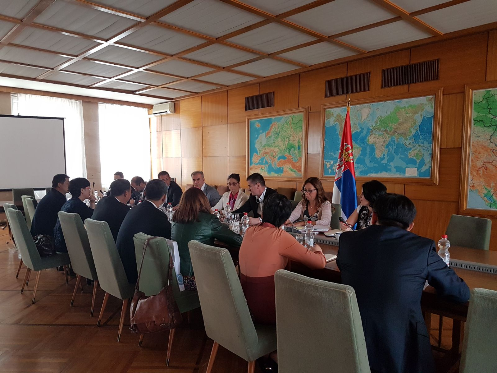 Перуничић угостио делегацију Кинеског олимпијског комитета