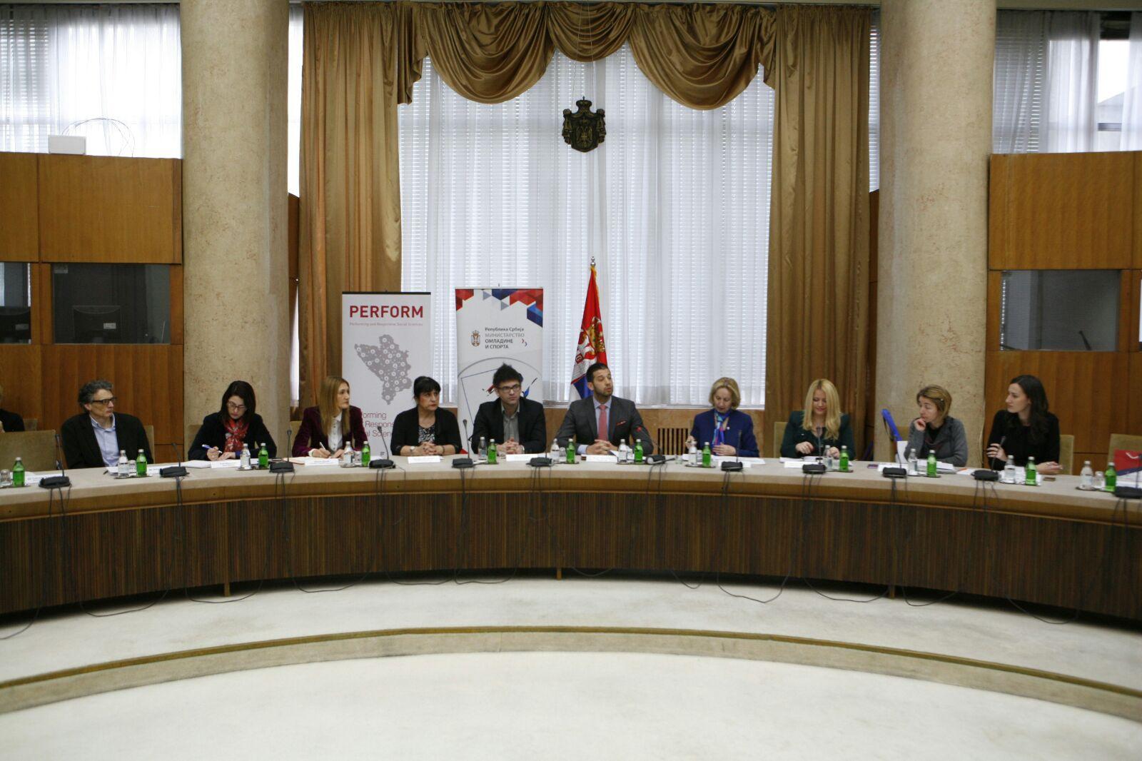 """Ministar Udovičić otvorio omladinsku konferenciju  """"S mladima za mlade"""""""