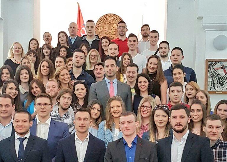 Удовичић на свечаној академији поводом обележавања Дана студената Универзитета у Нишу