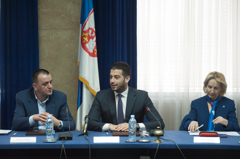 Министар Удовичић потписао уговоре са 20 јединица локалне самоуправе