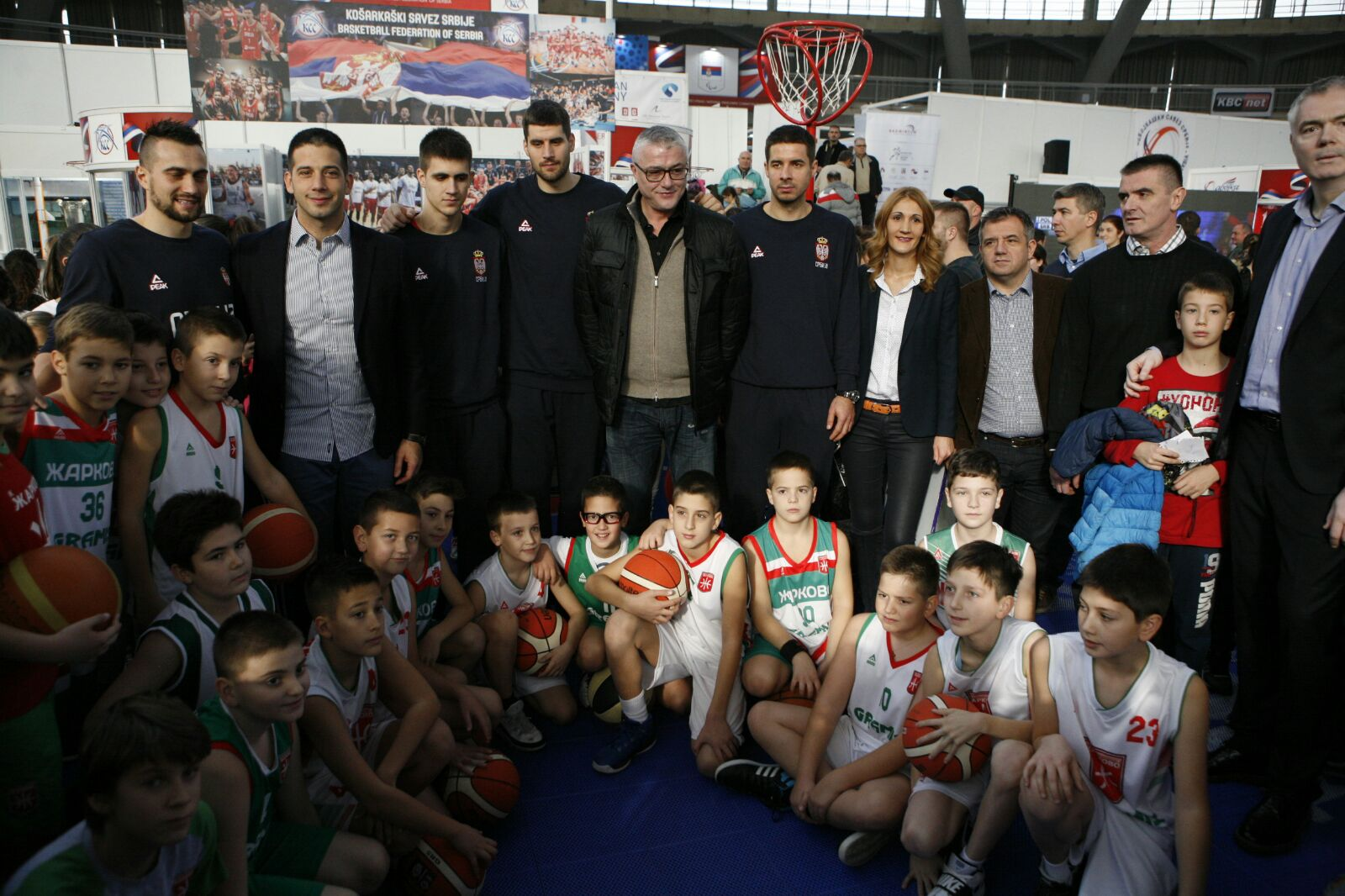 Дружење са шампионима на Сајму спорта