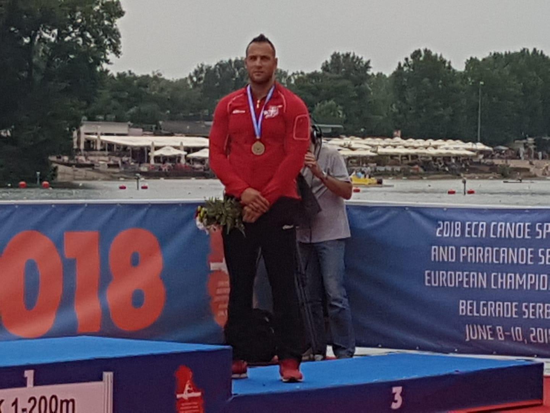 Министар Удовичић честитао Марку Драгосављевићу освојену бронзану медаљу