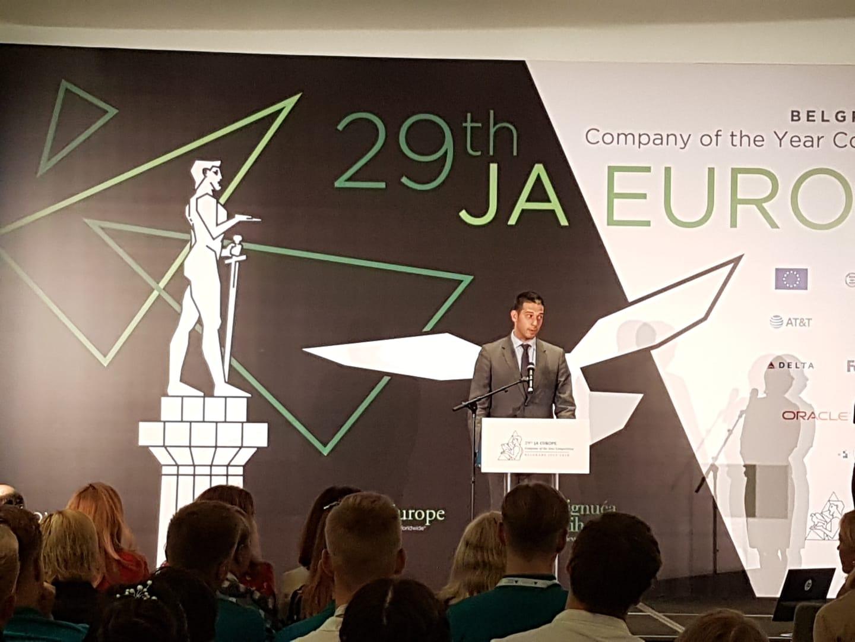 Ministar Udovičić otvorio Takmičenje najboljih učeničkih kompanija Evrope