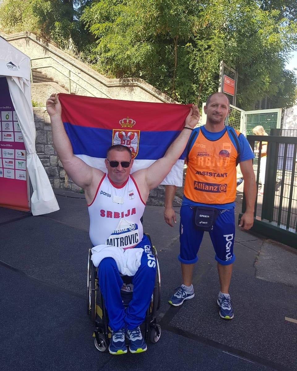 Министар Удовичић честитао Драженку Митровићу освајање бронзане медаље