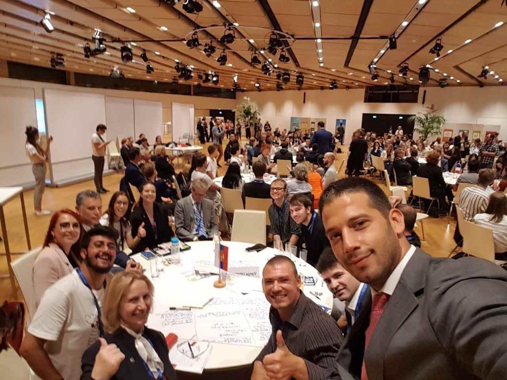 Министар Удовичић на ЕУ омладинској конференцији у Бечу