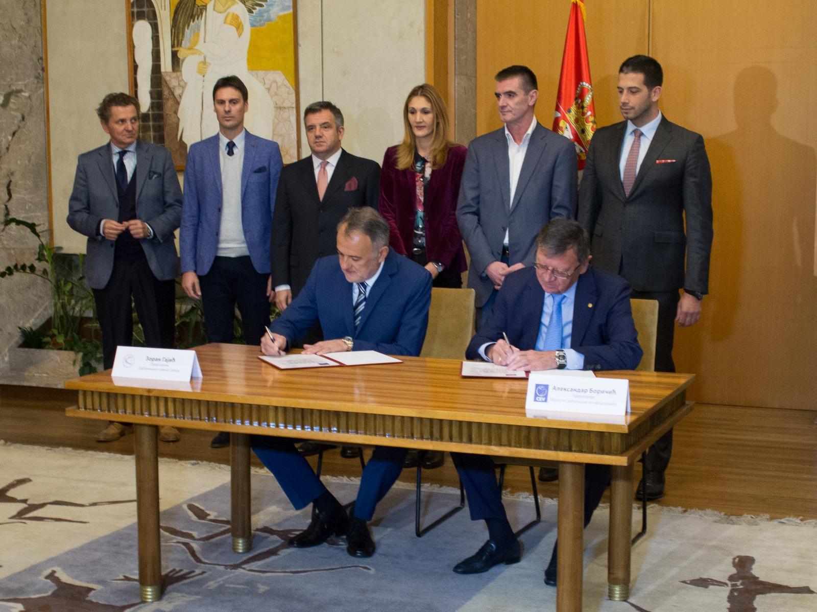Србија домаћин Европског првенства за одбојкашице 2021.