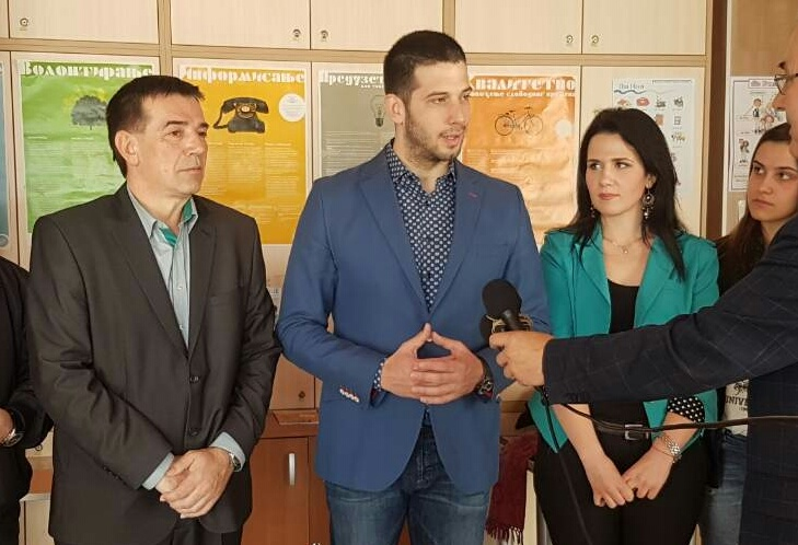 Министар Удовичић са омладином у Пријепољу