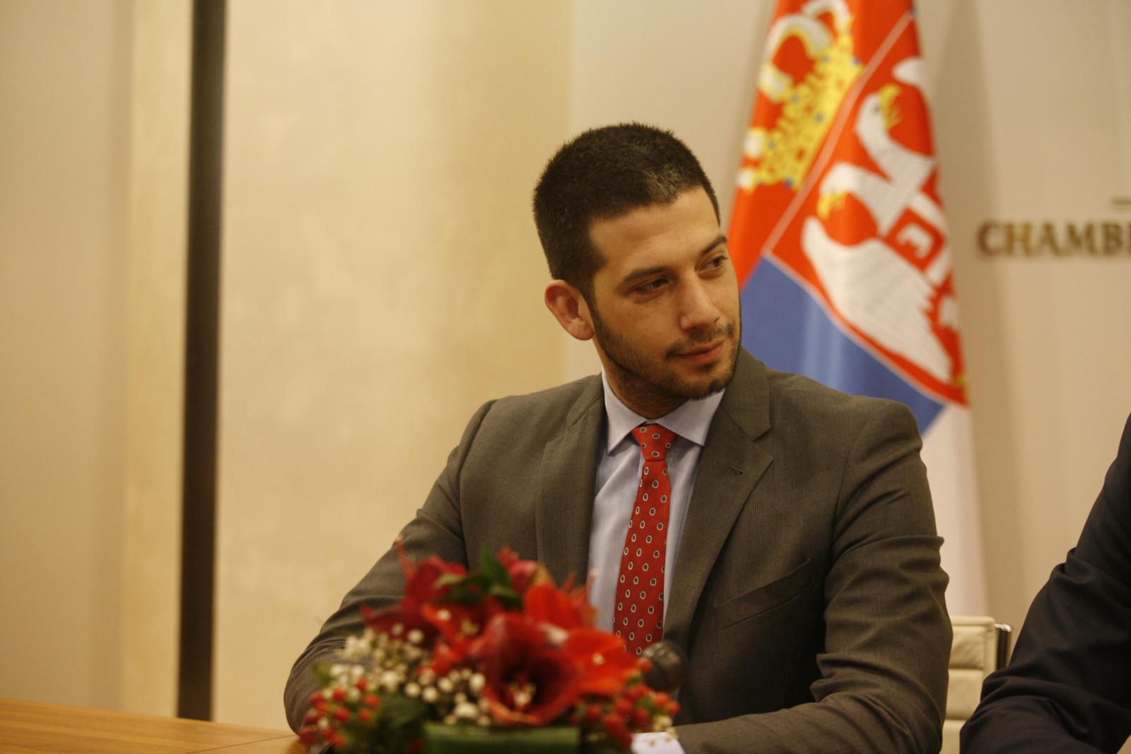 МинистарУдовичићипредседник Привредне коморе СрбијеЧадежпотписалиСпоразум о сарадњи