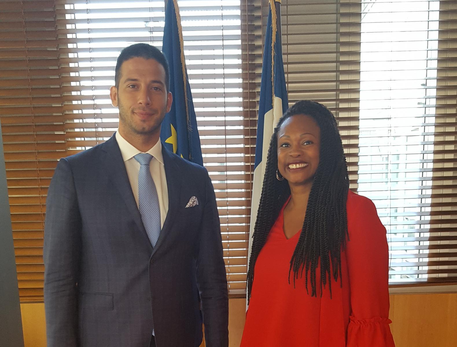 Udovičić u Parizu na bilateralnom sastanku sa ministarkom sporta Francuske