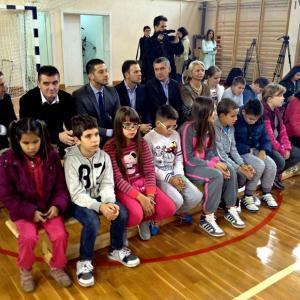 """Fiskulturna sala """"Veljko Radmanović"""""""