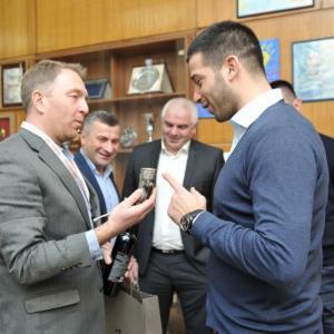 Sastanak sa ministrom omladine i sporta Gruzije