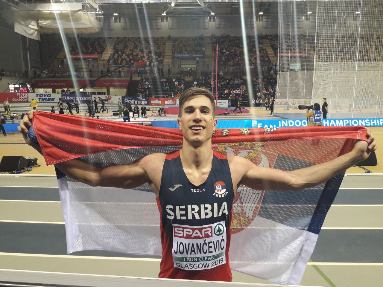 Mинистар Удовичић честитао Страхињи Јованчевићу освојену бронзану медаљу