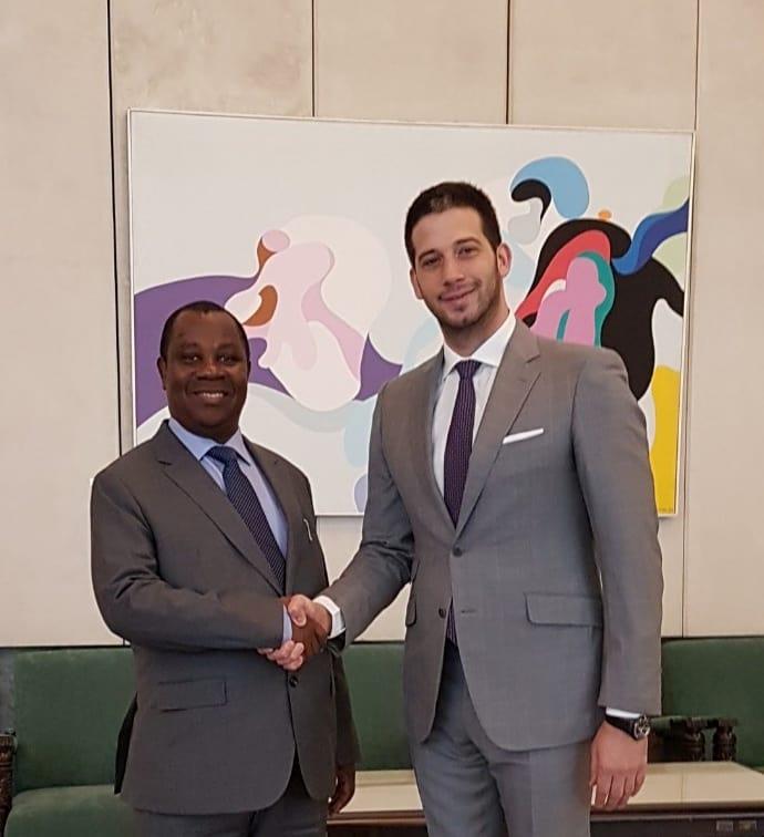 Министар Удовичић примио министра спољних послова Републике Бурунди Езакијела Нибижера