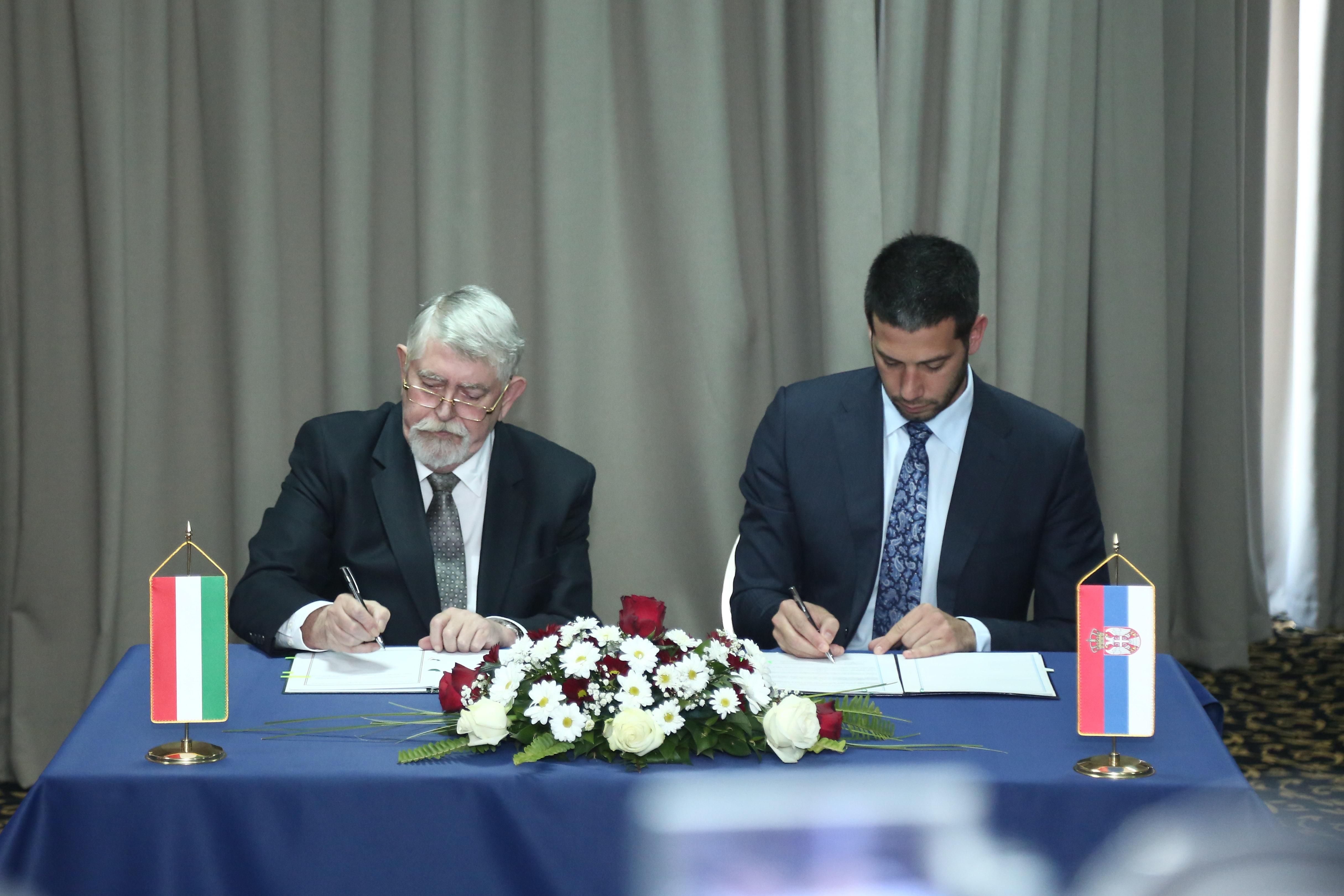 Potpisan Memorandum o saradnji u oblasti omladine i sporta između Srbije i Mađarske