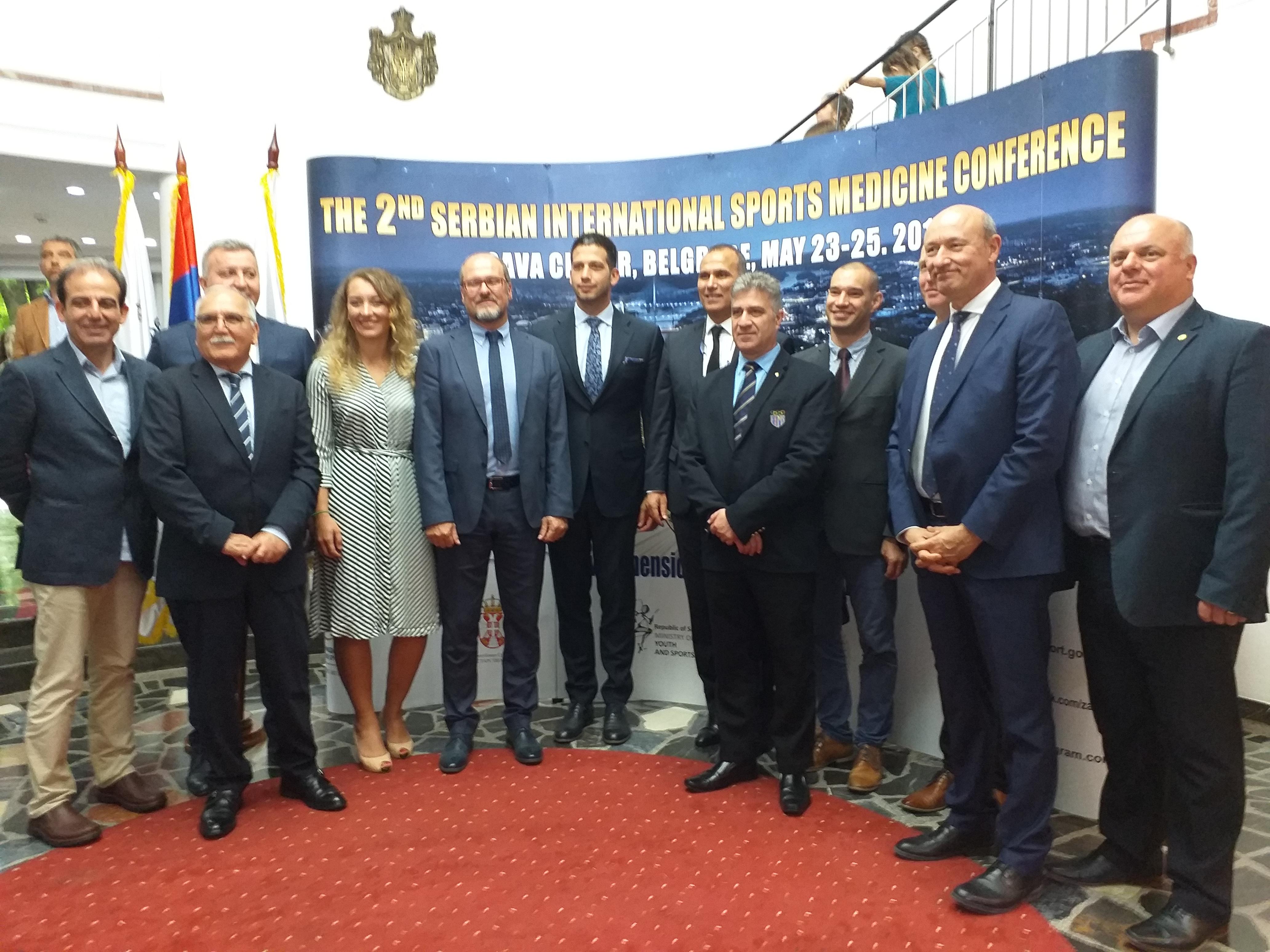 Београд центар медицине спорта - отворена 2. међународна конференција медицине спорта