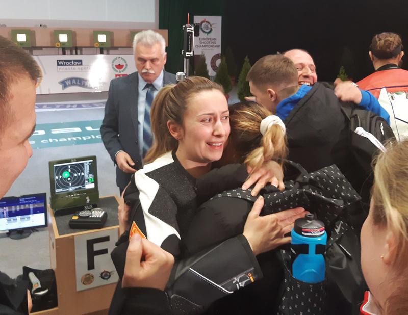 Министар Удовичић честитао Андреи Арсовић бронзу на шампионату Европе