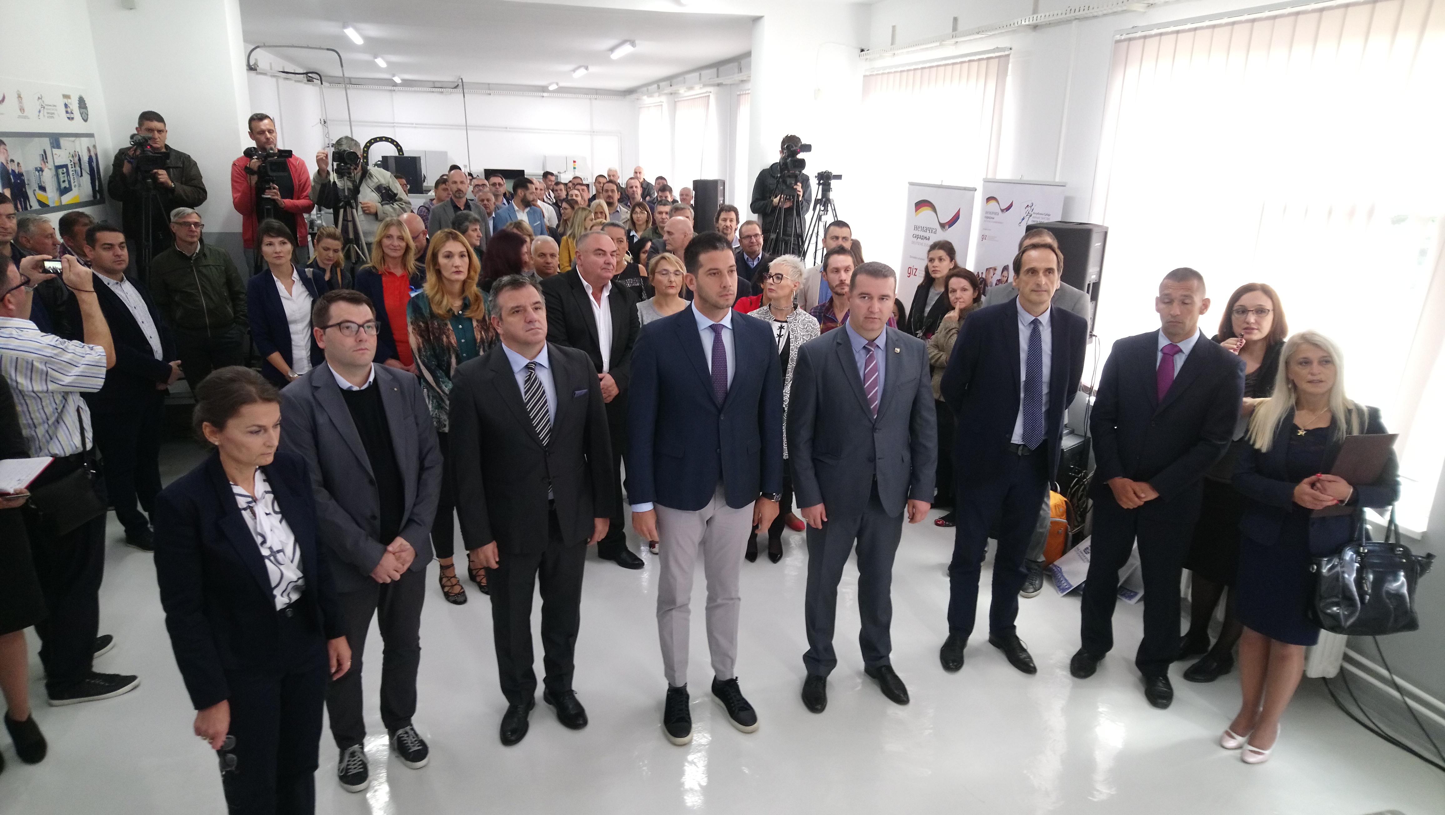 Нова шанса за младе – министар Удовичић отворио ЦНЦ тренинг центар у Прокупљу