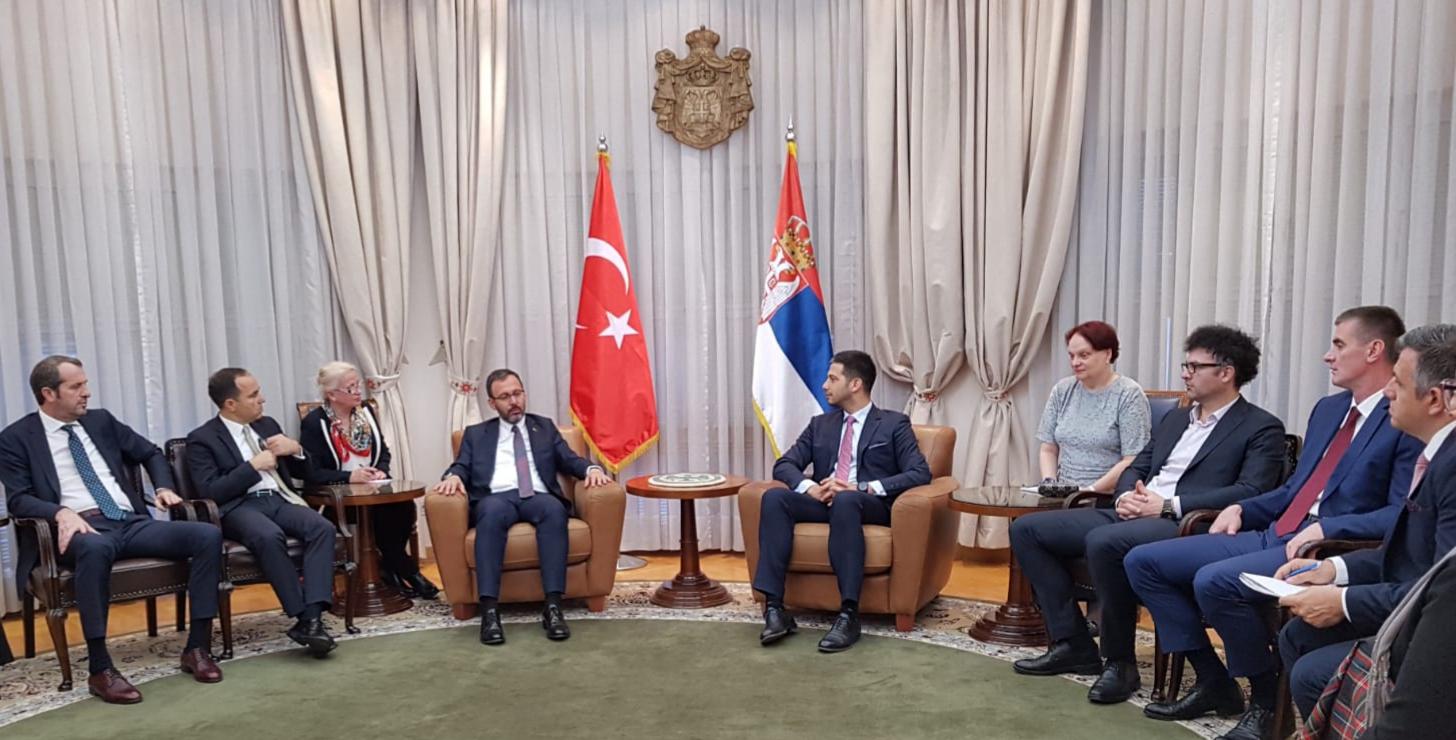 Министар Удовичић се састао са министром Касапоглуом и делегацијом Турске