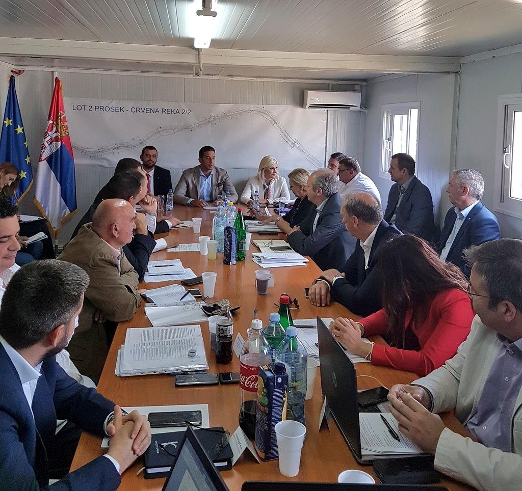 Ministar Udovičić u poseti Topličkom okrugu