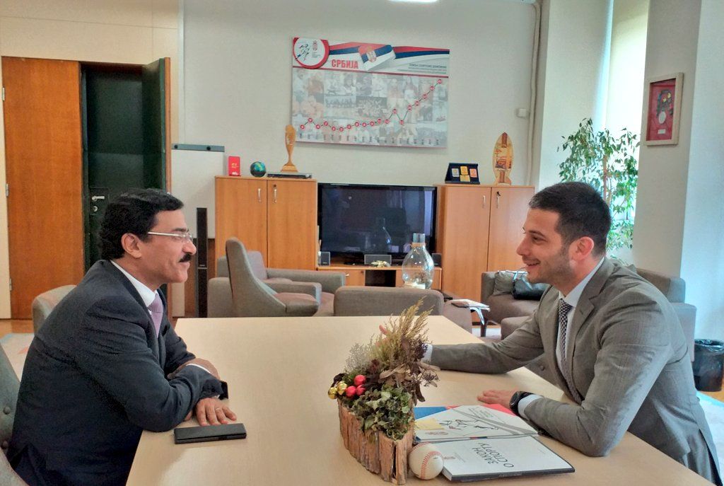 Министар Удовичић се сусрео са амбасадором Саудијске Арабије