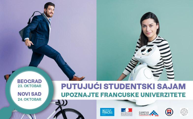 Fond za mlade talente učestvuje na Putujućem studentskom sajmu u Beogradu i Novom Sadu