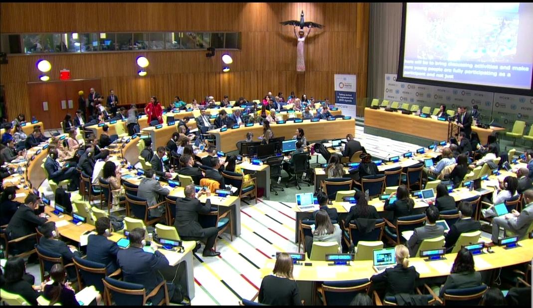 Обраћање министра Удовичића на 8. ЕКОСОК форуму у Уједињеним нацијама у Њујорку