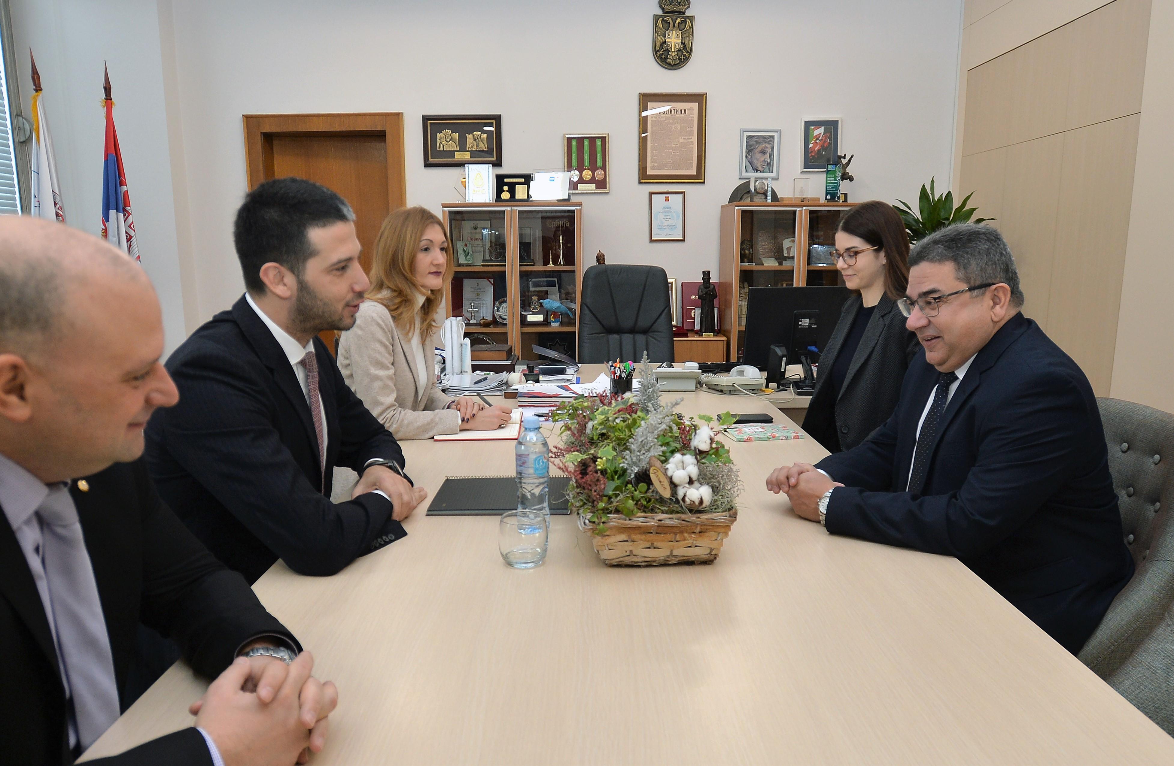 Министар Удовичић са амбасадором Кубе о изванредној спортској сарадњи две земље