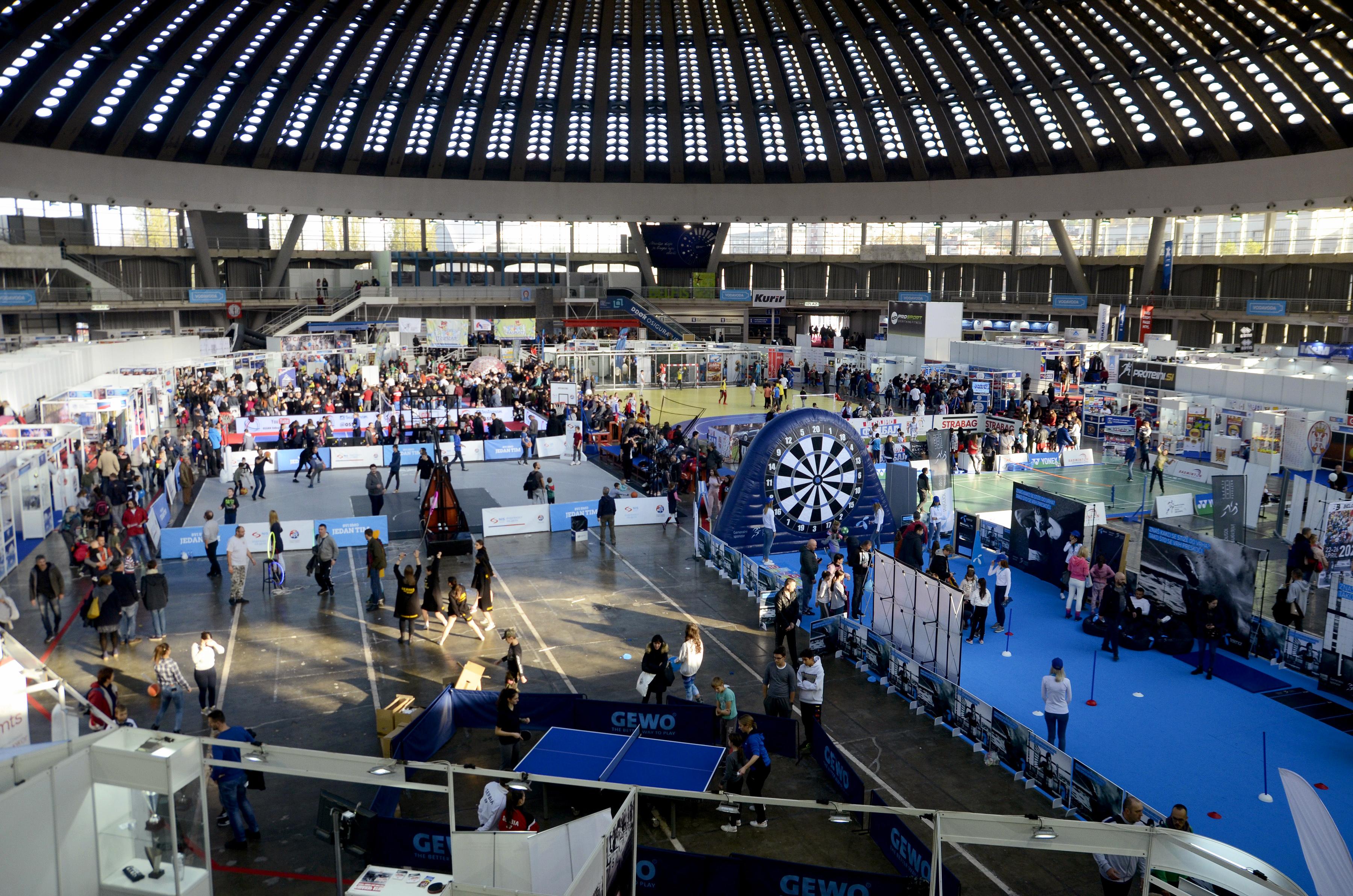 Završen 8. Međunarodni sajam sporta
