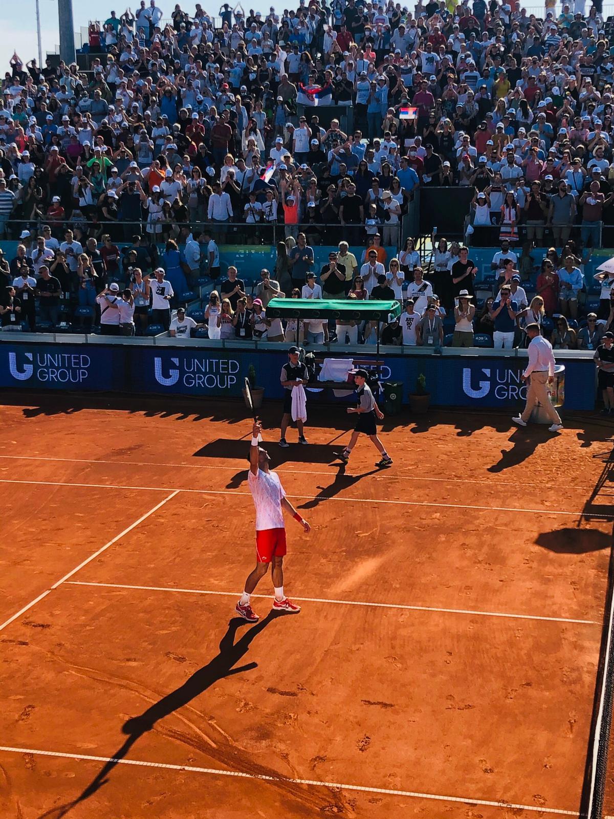 Više od vrhunskog tenisa! Hvala Novače!