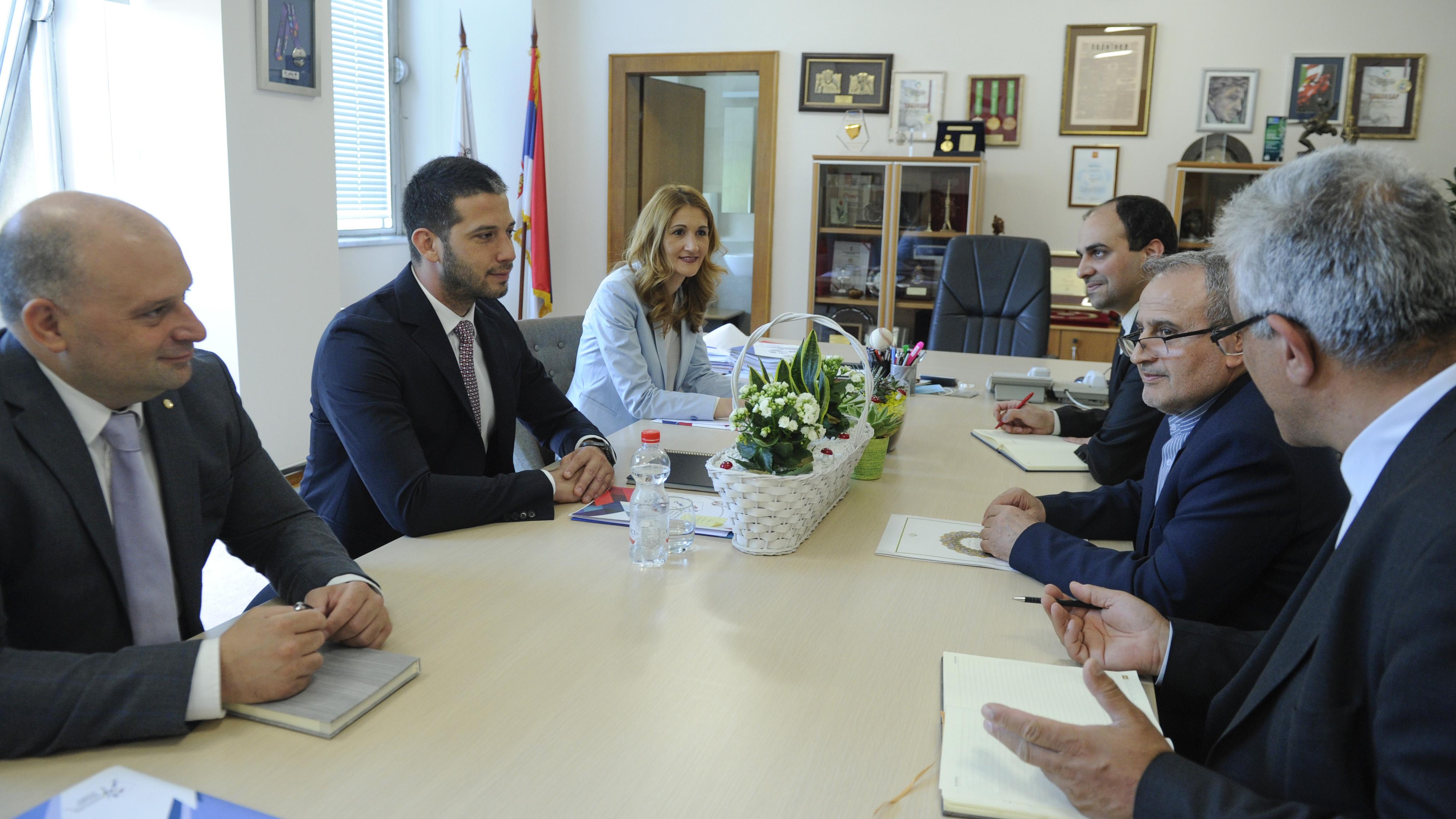 Ministar Udovičić sa novoizabranim ambasadorom Islamske Republike Iran o saradnji dve zemlje u oblasti sporta i omladine