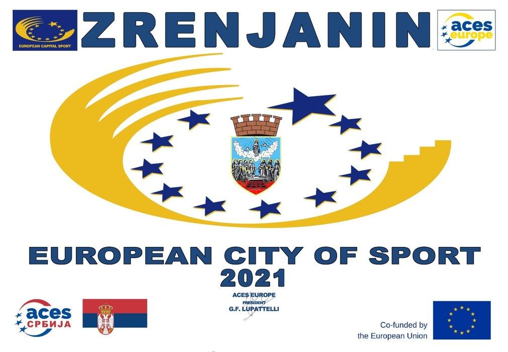 Ponos Srbije! Zrenjanin - Evropski grad sporta 2021