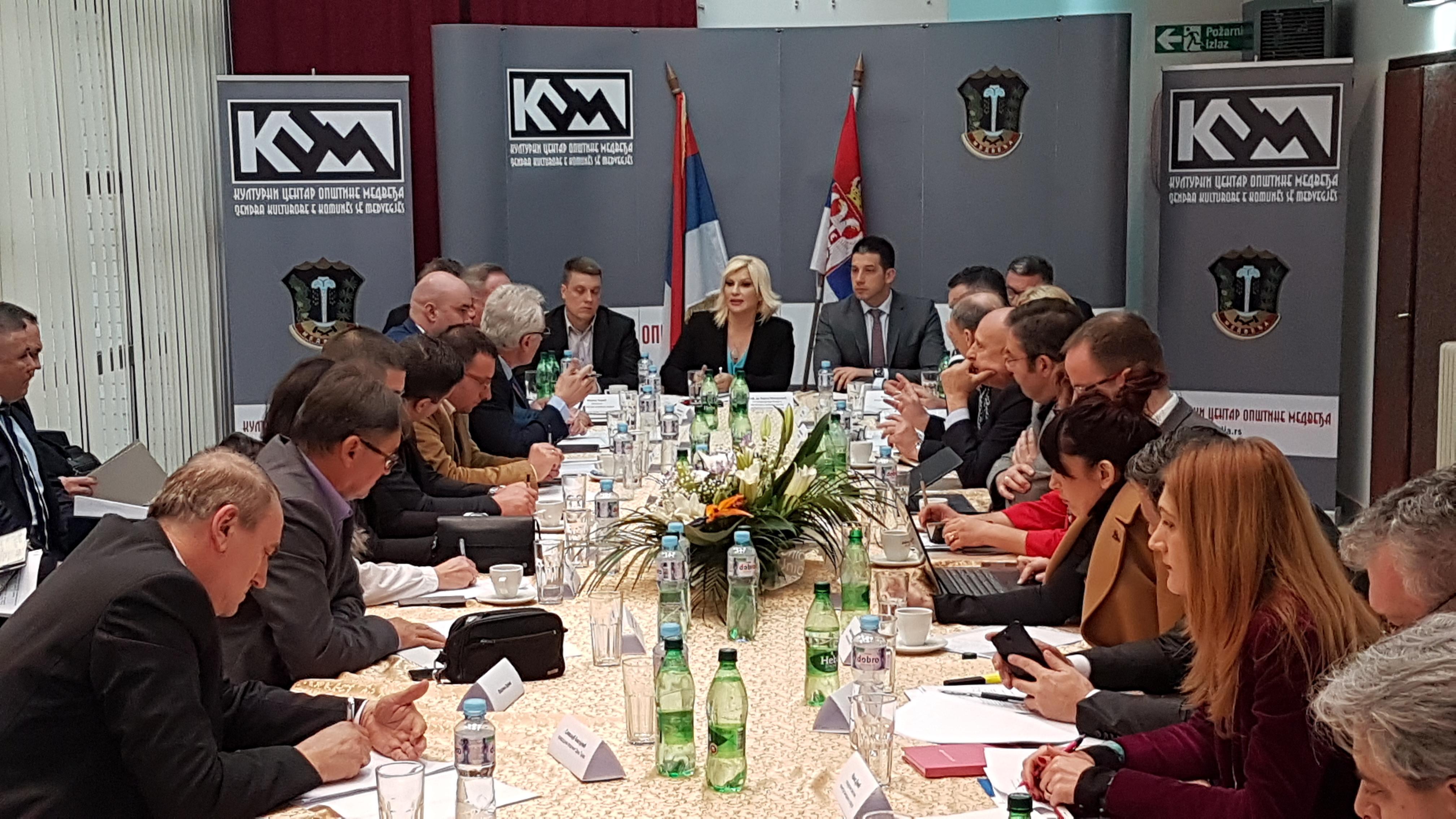 Министар Удовичић у посети Јабланичком округу