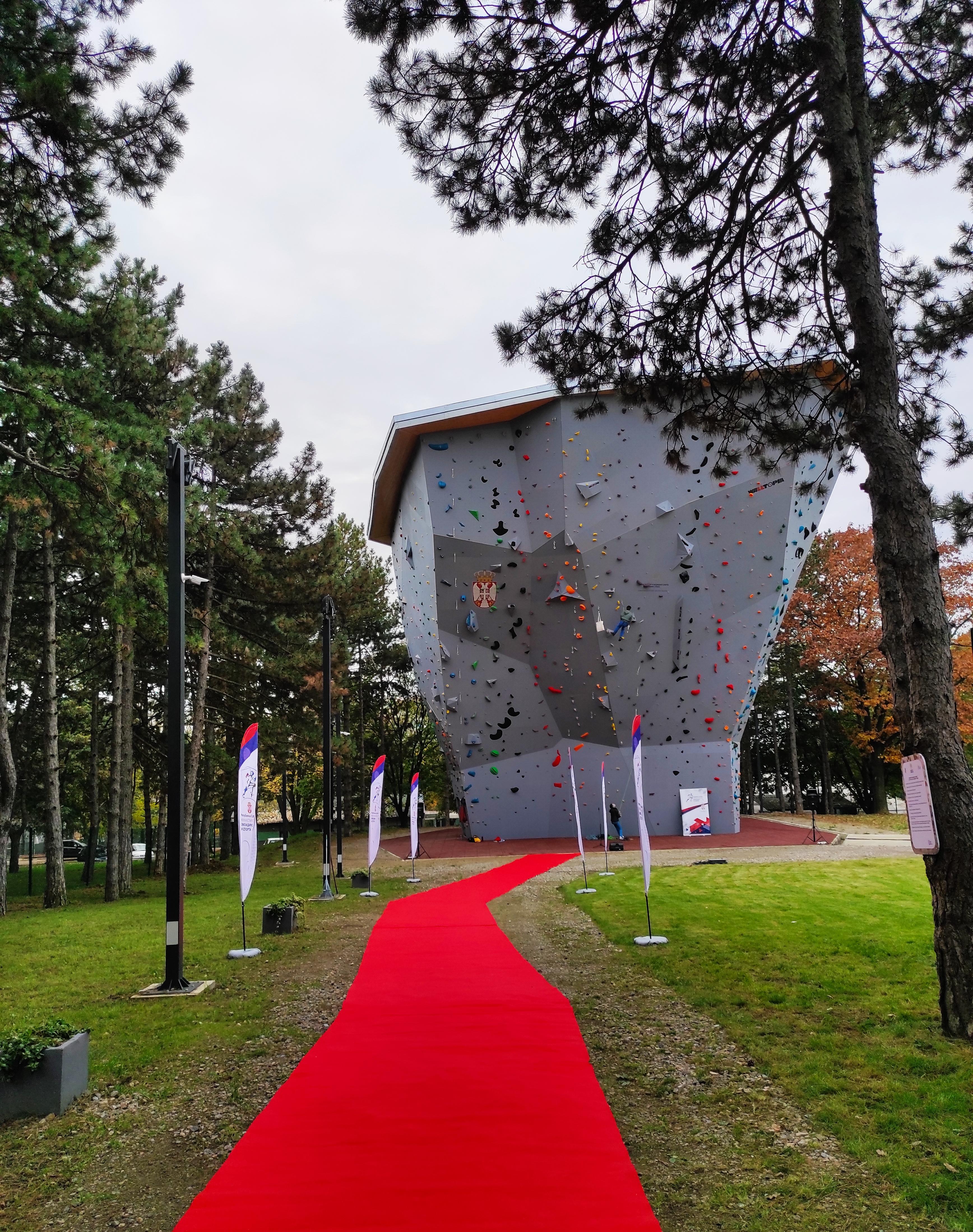 Још једно место за врхунски и рекреативни спорт у Србији - Новоотворени комплекс вештачких стена на Кошутњаку јединствен у овом делу Европе