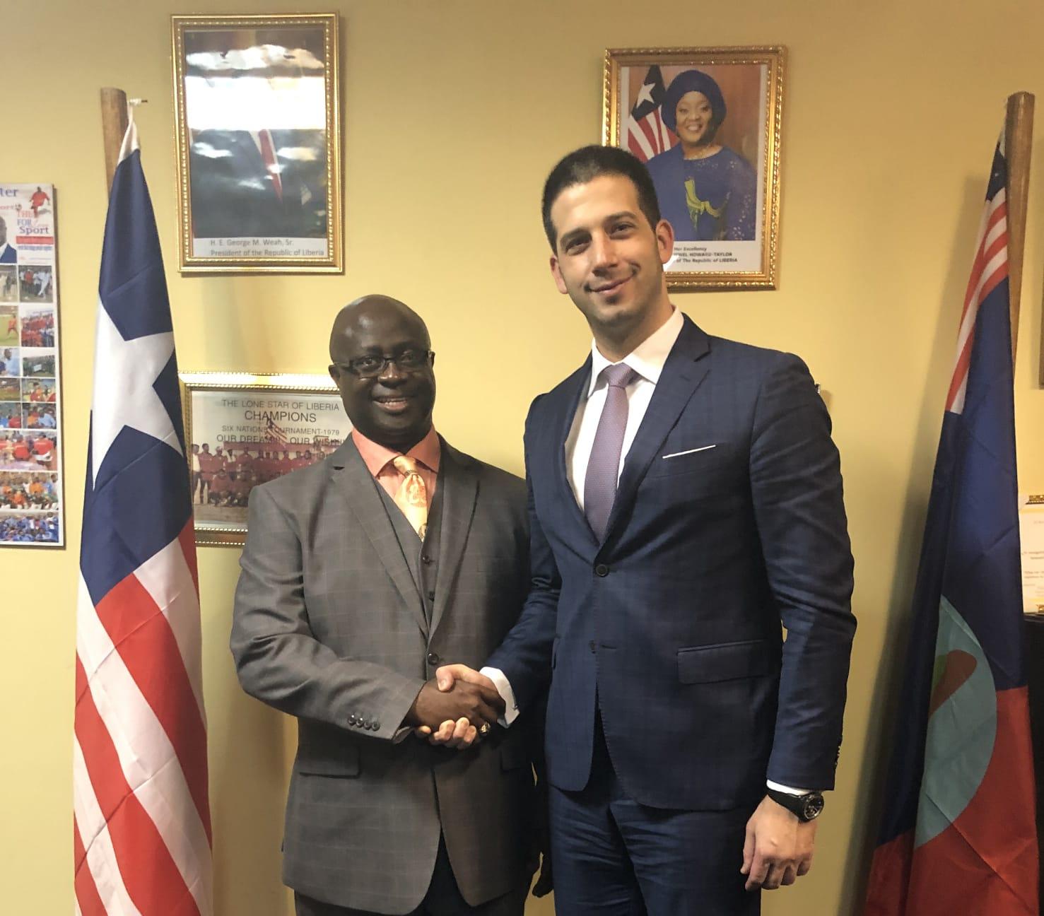 Министар омладине и спорта Вања Удовичић у званичној посети Либерији