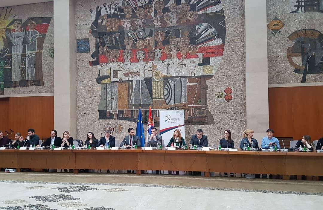 "Ministar Udovičić na konferenciji ""Podsticajno okruženje za mlade"""
