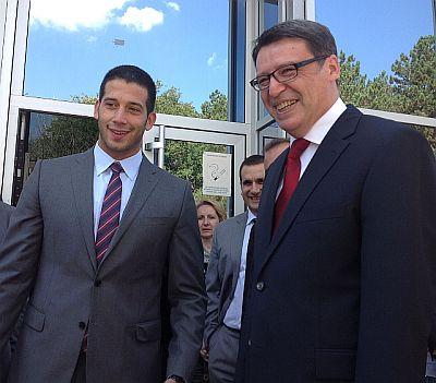Министар омладине и спорта Удовичић разговарао са делагацијом Хрватске