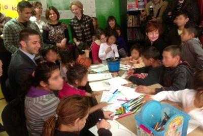 Udovičić na Svetski dan deteta obišao decu u Svratištu, Tiršovoj i Dečijem kulturnom centru