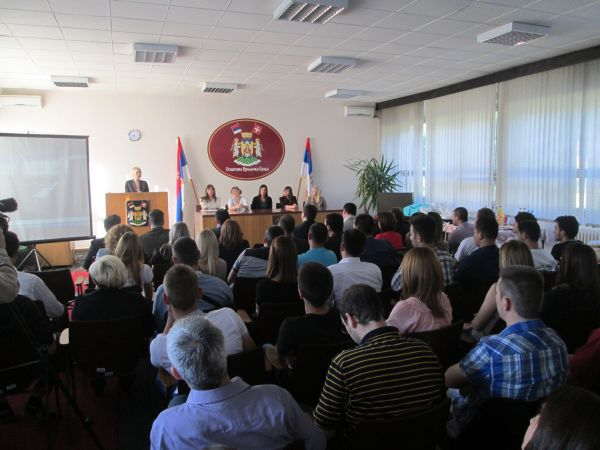 Свечано отворена канцеларија за младе Врњачка Бања