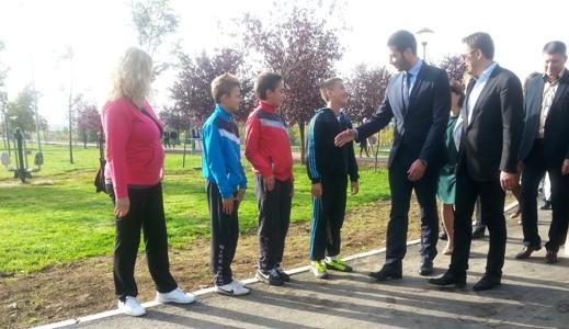 Udovičić u Kruševcu: Srpska atletika zaslužuje podršku države