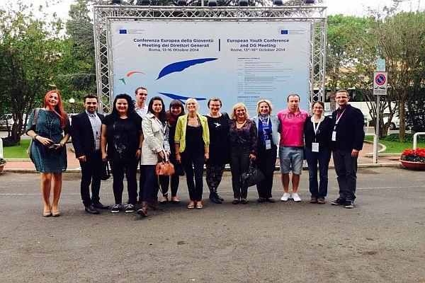 Делегација Републике Србије на ЕУ Конференцији о младима у Риму