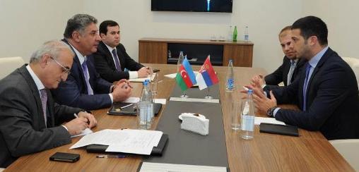 Удовичић са министром спорта Азербејџана - спортска инфраструктура у фокусу разговора