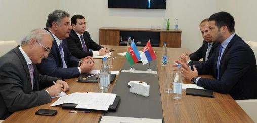 Udovičić sa ministrom sporta Azerbejdžana - sportska infrastruktura u fokusu razgovora