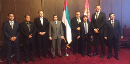 Delegacija Ujedinjenih Arapskih Emirata u radnoj poseti Republici Srbiji