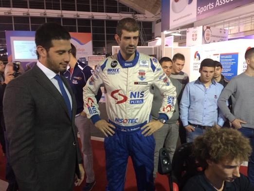 Најбољи српски аутомобилста Душан Борковић гост Министарства омладине и спорта