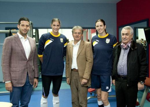Udovičić sa srpskim reprezentativkama u Azerbejdžanu