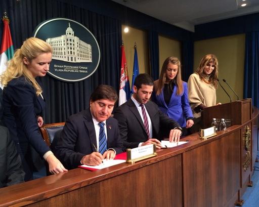 Potpisan sporazum o sportskoj i omladinskoj saradnji Srbije i Ujedinjenih Arapskih Emirata