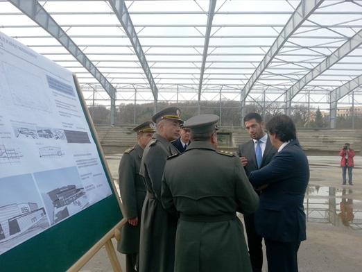 Удовичић и Гашић: Изградња по плану, Атлетска дворана ће бити спремна до Европског првенства